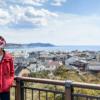 鎌倉を一望できる長谷寺の見晴台(第200回鎌倉ロケ)